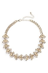 Sole Society Women's Sugarplum Crystal Collar Necklace