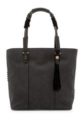 Steve Madden Emerson Faux Leather Tote Gray