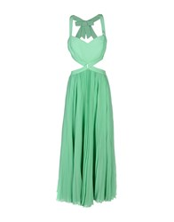 Shi 4 Long Dresses Light Green