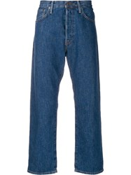 Acne Studios Loose Fit Jeans Blue