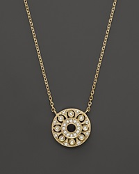 Kc Designs Diamond Pendant In 14K Yellow Gold .15 Ct. T.W. Yellow Gold White Diamonds