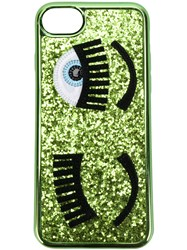 Chiara Ferragni Flirting Iphone 7 Case Leather Pvc Green