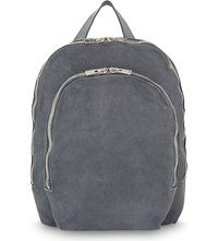 Guidi Horse Leather Backpack Grey