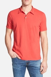 Agave Supima R Cotton Jersey Polo Red