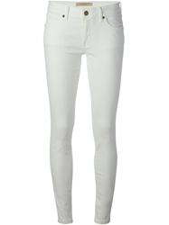 Burberry Brit Skinny Jeans White
