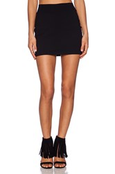 Susana Monaco Slim Skirt Black
