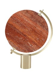 Jcp Naia Marble Table Mirror Red Gold