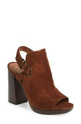 Frye Women's 'Karissa Shield' Sandal Wood Suede