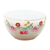 Pip Studio Cherry Bowl 12Cm Khaki