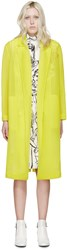 Emilio Pucci Yellow Volume Coat