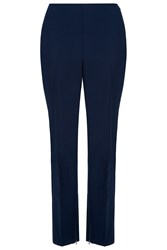 Damsel In A Dress Cropped Trousers Navy