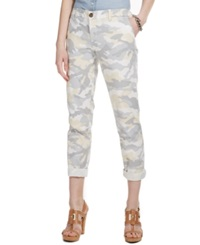 Tommy Hilfiger Slim Fit Rolled Camo Print Chino Pants