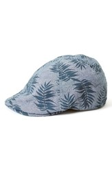 Goorin Bros. Men's Brothers Beach Please Driving Cap Blue