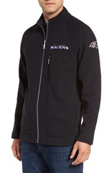 Tommy Bahama Men's 'Nfl Blindside' Knit Zip Jacket Ravens