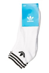 Adidas Trefoil Ankle Socks By Originals White