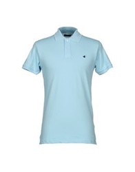 Brooksfield Polo Shirts Dark Blue