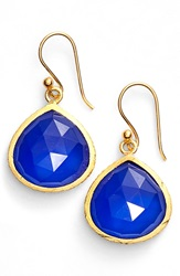 Sonya Renee 'Nicole' Drop Earrings Blue Calcite