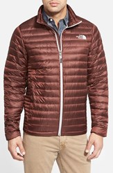 The North Face Men's 'Tonnerro' Compressible Down Puffer Jacket Sequoia Red