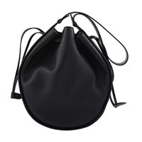 The Row Drawstring Hobo Xl Size Bag Black Shg