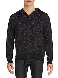 Sovereign Code Noel Speckled Hoodie Black