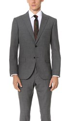 Club Monaco Grant Suit Blazer Dark Grey