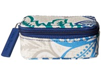 Vera Bradley Lighten Up Every Little Thing Case Santiago Wallet Blue