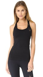 Lucas Hugh Core Technical Knit Sleeveless Tank Black