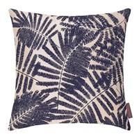 Clarissa Hulse Espinillo Cushion 45X45cm Metallic Natural Linen Ink