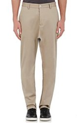 Oamc Men's Drop Rise Chinos Grey
