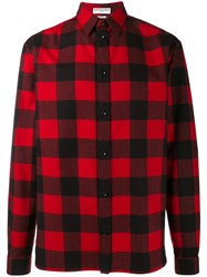 Balenciaga Plaid Shirt Black