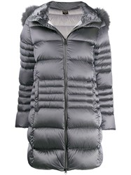 Colmar Hooded Padded Coat Grey