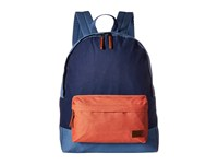 Roxy Sugar Baby Canvas Color Block Backpack Blue Shadow Backpack Bags