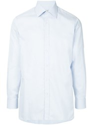 Gieves And Hawkes Longsleeved Shirt Blue