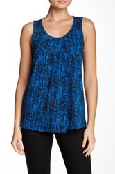 Anne Klein Printed Knit Tank Multi