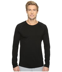 Smartwool Merino 150 Baselayer Long Sleeve Black Men's T Shirt