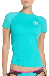 Body Glove Women's 'Smoothies In Motion' Short Sleeve Rashguard
