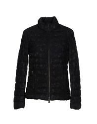 Valentino Down Jackets Black