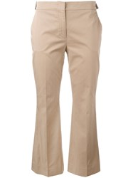 N 21 No21 Side Buttons Trousers Nude Neutrals