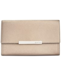 Calvin Klein Evening Clutch Metallic Taupe