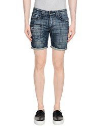 Gazzarrini Denim Shorts Blue