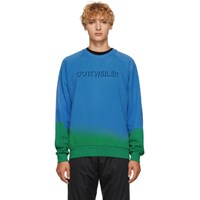 Cottweiler Blue And Green Signature 3.0 Sweatshirt