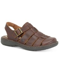 Born Men's Elbek Sandals Men's Shoes Brown