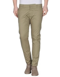Gold Case By Rocco Fraioli Casual Pants Dove Grey