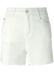 Ermanno Scervino Lace Detail Shorts