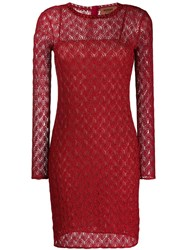Missoni Fine Knit Dress Red
