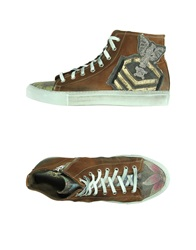 Happiness Sneakers Brown