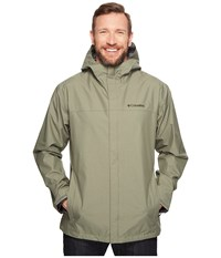 Columbia Big Tall Diablo Creek Rain Jacket Cypress Men's Coat Green