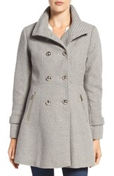 Jessica Simpson Women's Fit And Flare Officers Coat