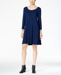 Styleandco. Style Co. Petite Swing Dress Only At Macy's Ink