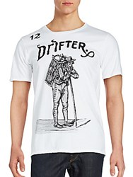 Drifter Solid Cotton Tee White